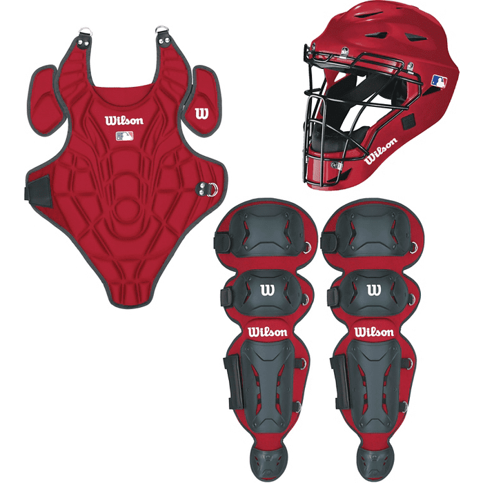 Wilson EZ Gear Catchers Equipment Kit, Multiple Sizes Colors by Wilson Sporting Goods