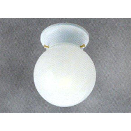 Gloss White Machine Blown Glass Globe Shade 85570 - Pack of 6 - image 1 of 1