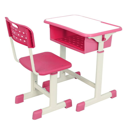 Astounding Segmart Child School Desk Height Adjustable Ergonomic Kids Desk And Chair Set With Storage Drawer And Hanging Hooks Student Desk For Kids Homework Gmtry Best Dining Table And Chair Ideas Images Gmtryco