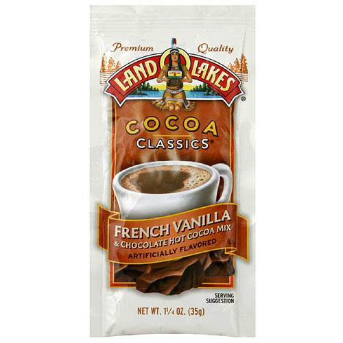 Land O Lakes French Vanilla & Chocolate Cocoa Mix, 1.25 oz (Pack of 12)
