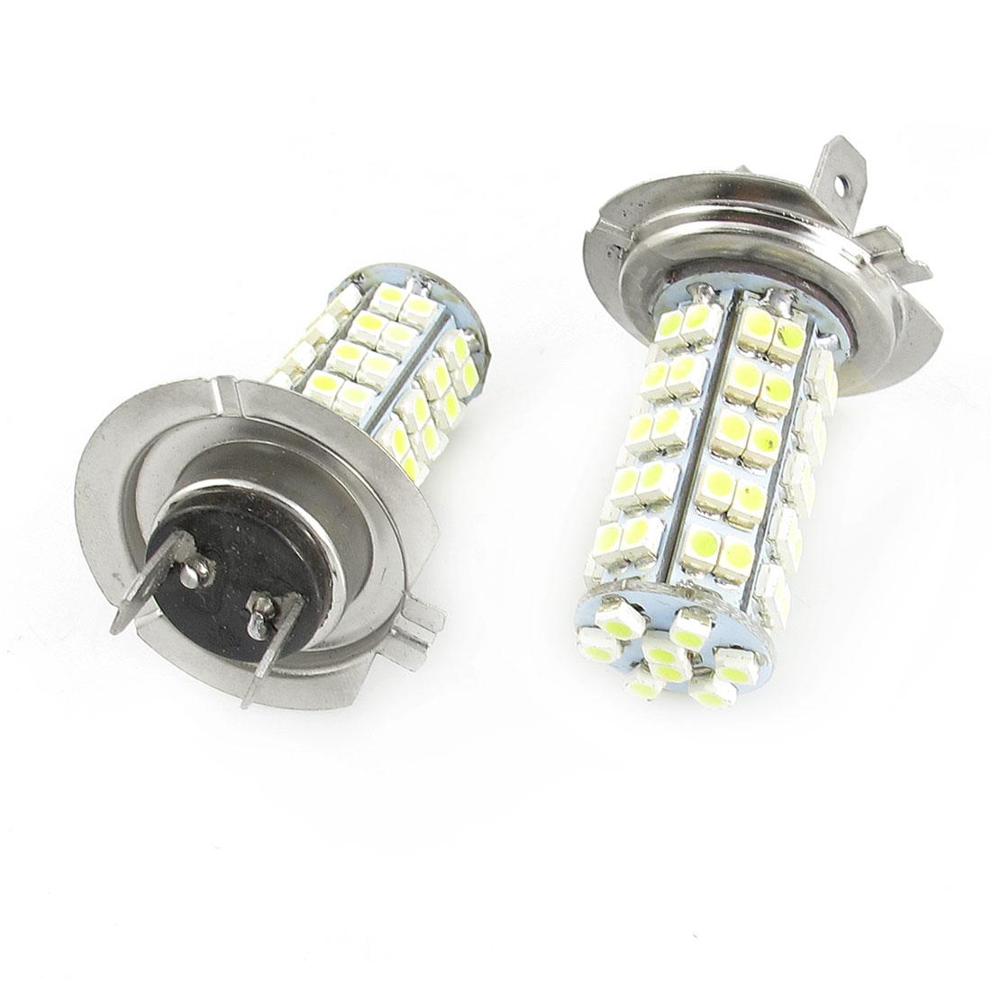 Paire - 1210 SMD 68 LED Feux phare avant H7 Ampoule Lampe de rechange 12 V - image 1 de 1