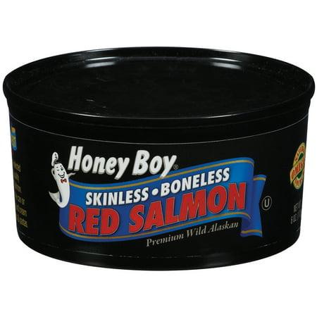 (2 Pack) Kelley Clarke Honey Boy  Red Salmon, 6 (Large Pink Salmon)
