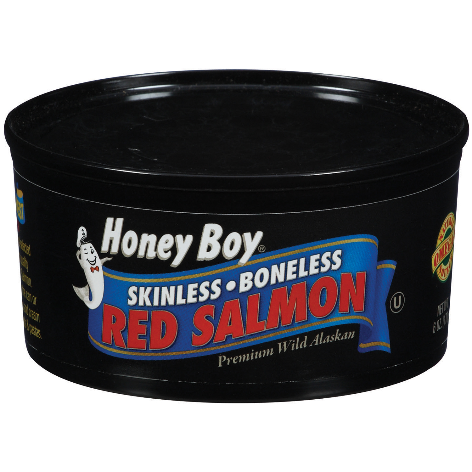 (2 Pack) Kelley Clarke Honey Boy  Red Salmon, 6 oz