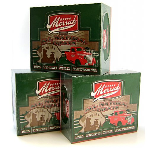 Merrick Jr Texas Taffy Beef Jerky for Dogs