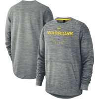 Golden State Warriors Nike Spotlight Performance Pullover Sweatshirt - Heathered Gray