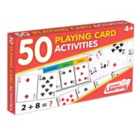 Junior Learning - 50 Playing Card Activities Learning Educational Game