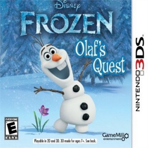Frozen: Olaf's Quest, GameMill, Nintendo 3DS, 834656090128