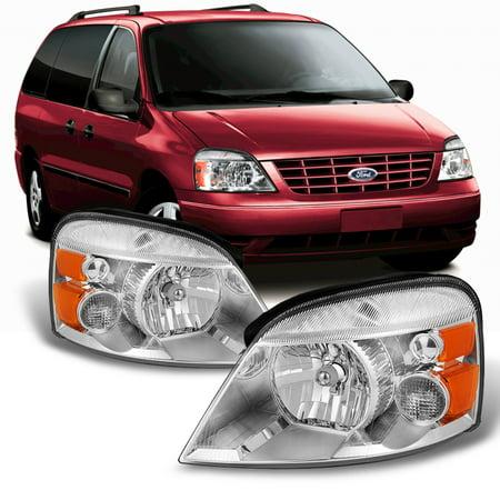 Fit 2004-2007 Ford Freestar | 2004-2007 Mercury Monterey Both Side Headlights