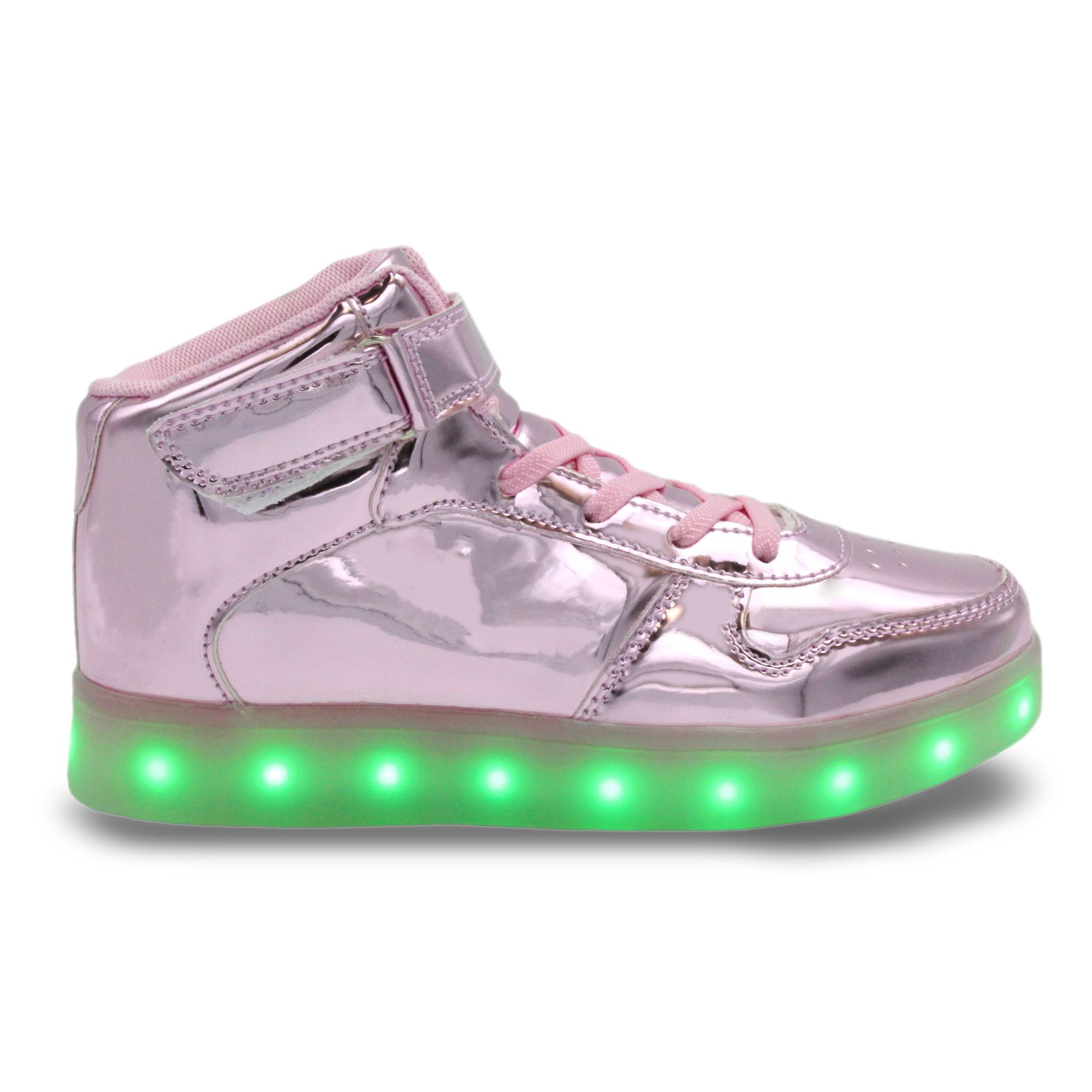 Basketball Shoes for Kids Boys Girls Light Up Outdoor Trainers High-Top Unisex Children Sport Shoes