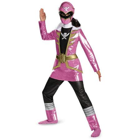 Disguise Saban Super Megaforce Power Rangers Pink Ranger Deluxe Girls Costume,