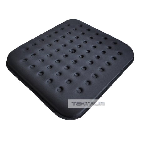 Tektrum Thick Orthopedic Cool Gel Seat Cushion With Cooling Vents For Wheelchair Office Home Car Relief For Back Pain Sciatica Tailbone