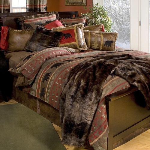 Carstens Inc. Bear Country Reversible Comforter Set
