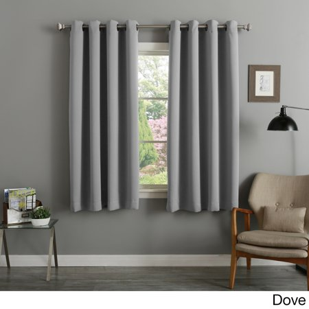 Aurora Home 54 Inch Thermal Insulated Blackout Curtain