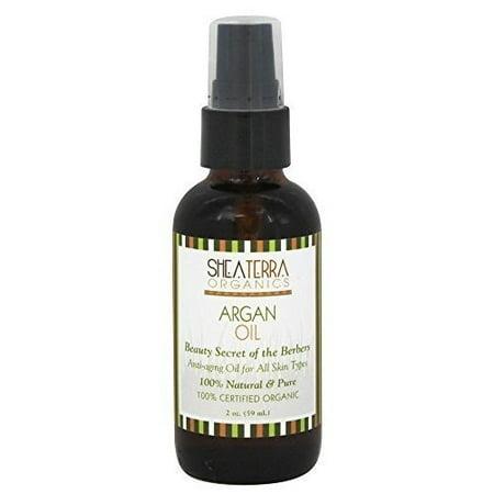 Shea Terra Organics - Moroccan Argan Oil Argan Oil Beauty of The Berbers, 2 fl oz oil