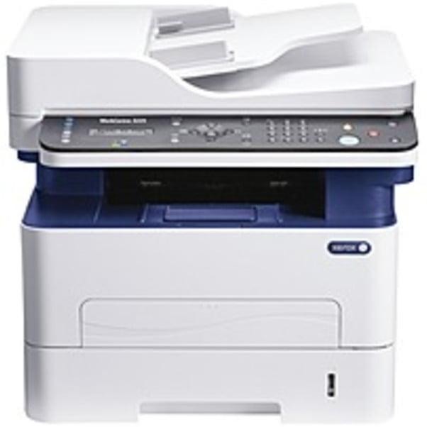 Refurbished Xerox WorkCentre 3225DNI Laser Multifunction Printer - Monochrome - Plain Paper Print - Desktop - Copier/Fax/Printer/Scanner - 29 ppm Mono Print - 4800 x 600 dpi Print - Automatic