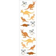 Mrs. Grossman's Stickers-Playful Kangaroos