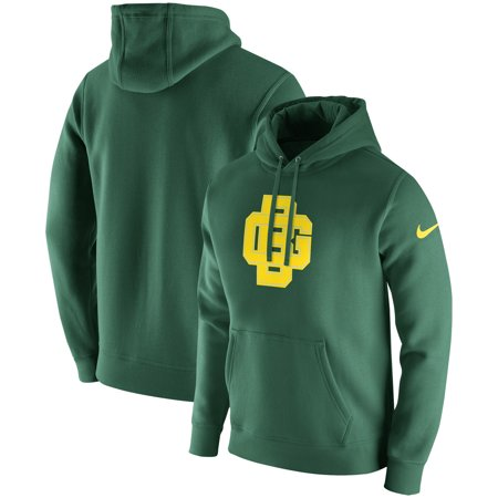 save off d8676 a2d53 Green Bay Packers Nike Fan Gear Club Throwback Pullover Hoodie - Green
