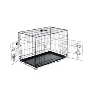 "Pet Trex 30 Inch Folding Pet Crate, 2 Door Animal Kennel, 30"" Dogs, Rabbits"