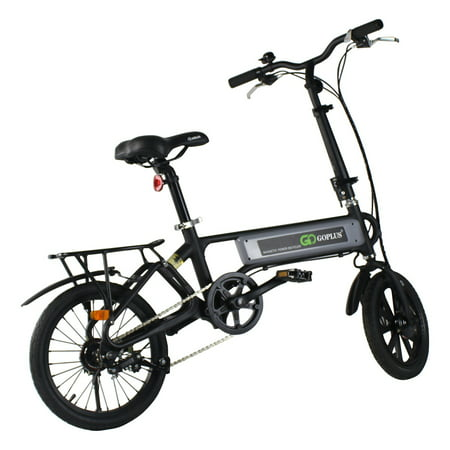 Costway 120W Lightweight Folding Electric Sporting Bicycle EBike Speed Lithium