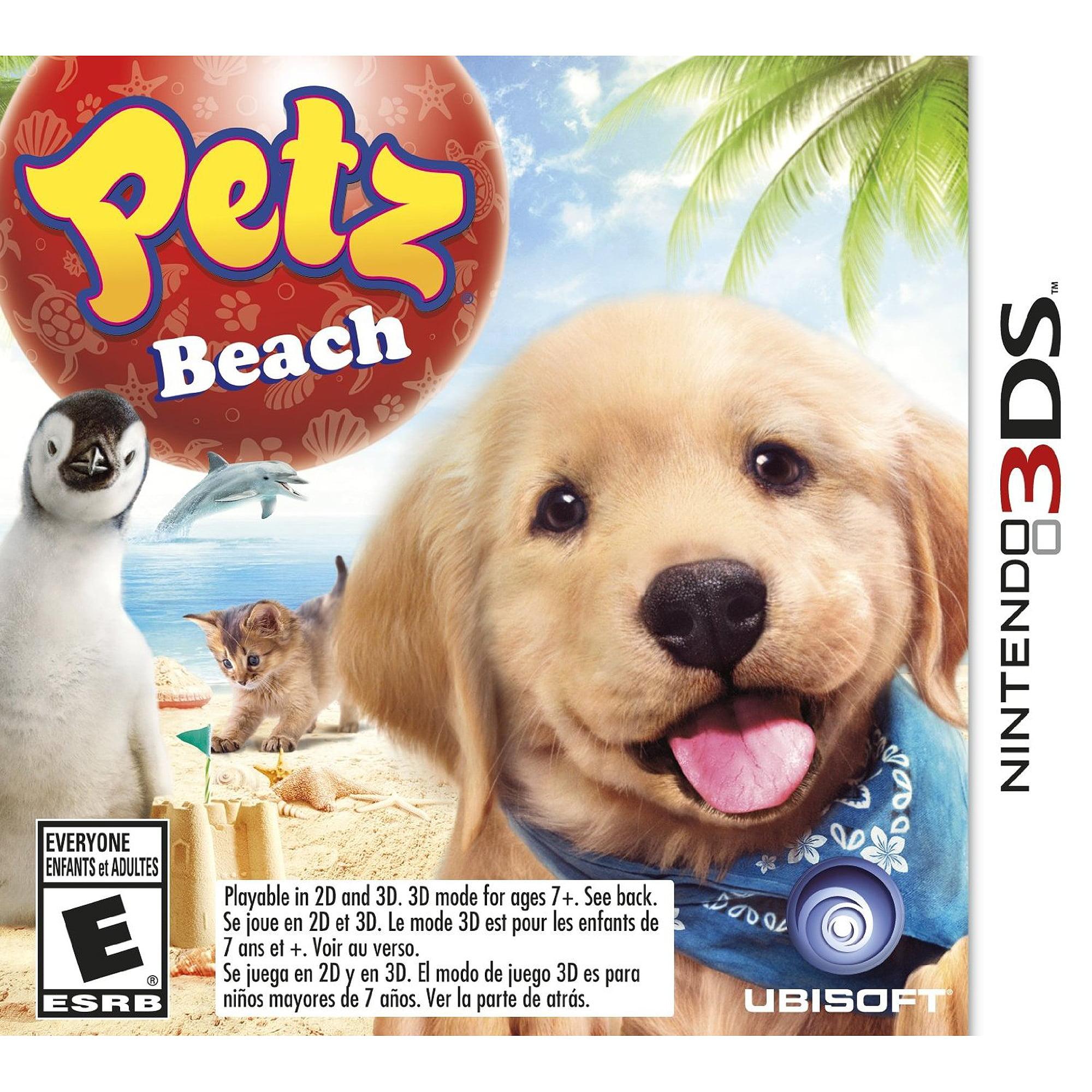 Petz Beach (Nintendo 3DS)