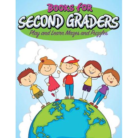 Books for Second Graders : Play and Learn Mazes and Puzzles