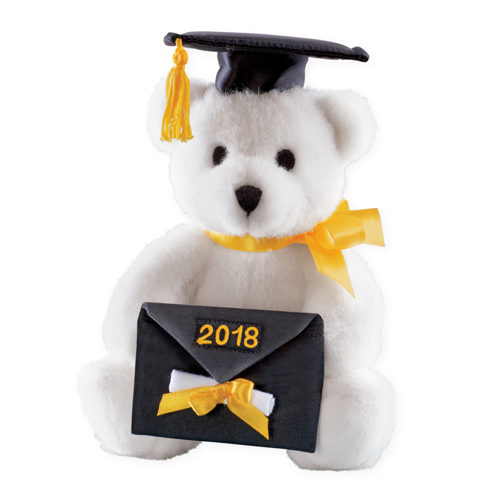 Class Of 2018 Graduation Gift Plush Bear With Gift Card Holder High
