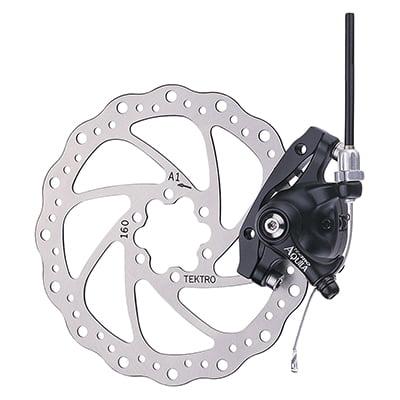 Tektro MD-M500 Mountain Bicycle Rear Mechanical Disc Brake // 160mm // Black