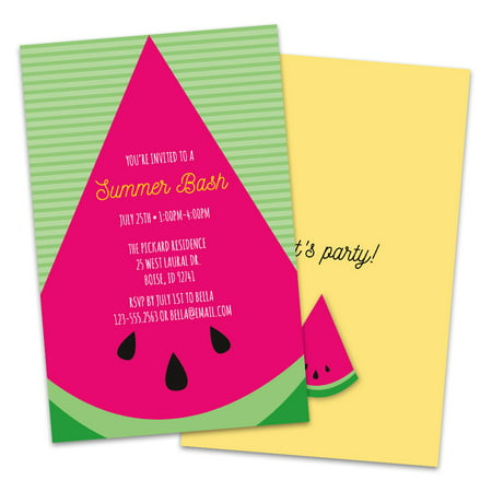 Personalized Watermelon Bash Party