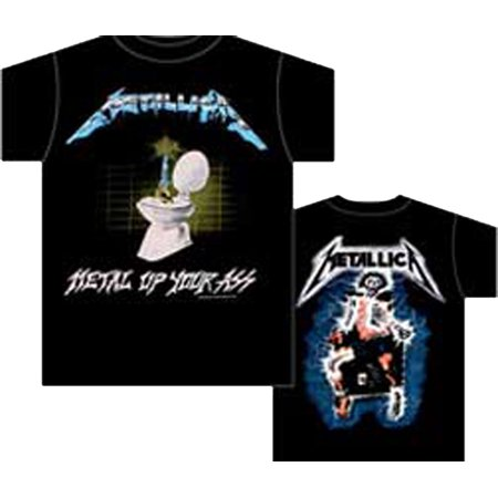 Metallica   Metal Up Your Adult T Shirt