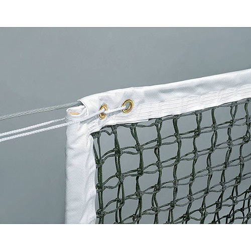Sportime Deluxe Tennis Net with 3 mm Braided Polyethylene
