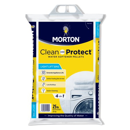 Morton® Clean and Protect® Water Softener Salt Pellets, 25 lb. Bag ()