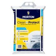 Morton Clean and Protect Water Softener Salt Pellets, 25 lb. Bag