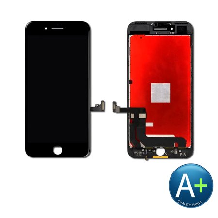 Touch Screen Digitizer and LCD for Apple iPhone 7 Plus Black (A1661, A1784, (Iphone 7 Plus Black Screen Of Death)