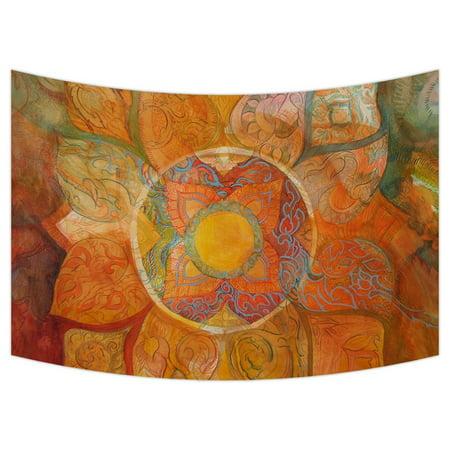 - GCKG Mandala Paisley Damask Wall Art Tapestries Home Decor Wall Hanging Tapestry Size 60