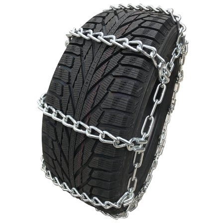 Compatible with Ford F-350 Super Duty King Ranch 4x4 Plow Pkg. 2018 LT275/65R18 Load Range E Tire Chains - image 4 of 4