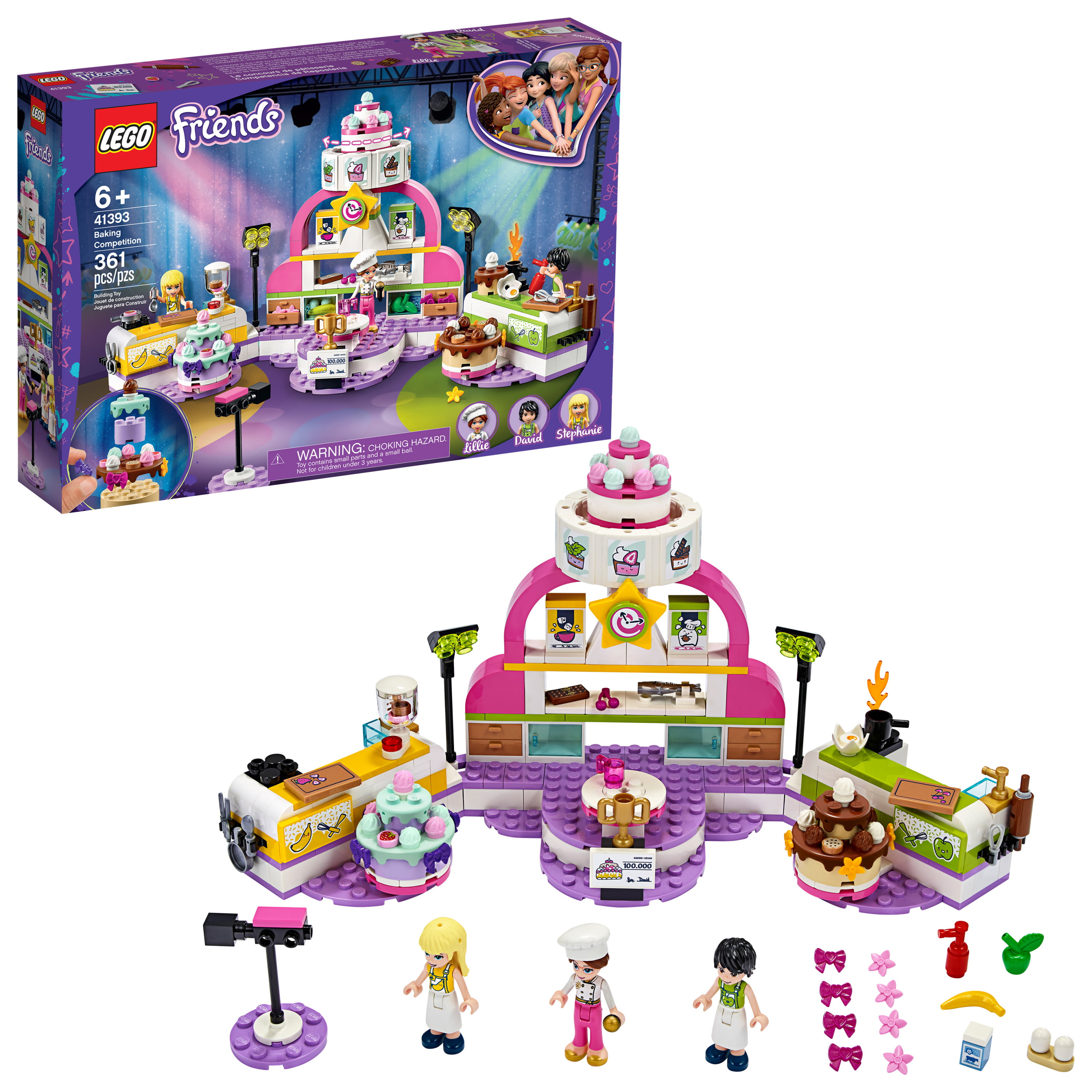 41395 LEGO Friends Friendship Bus 778 Pieces Age 8 Years+