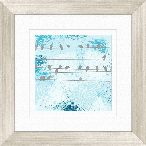 Click here to buy Bird Gathering Wall Decor, Framed Artwork.