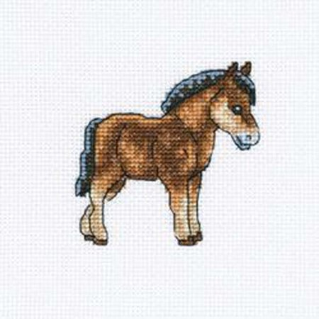 Horse Cross Stitch - Dutch Horse Counted Cross Stitch Kit-4