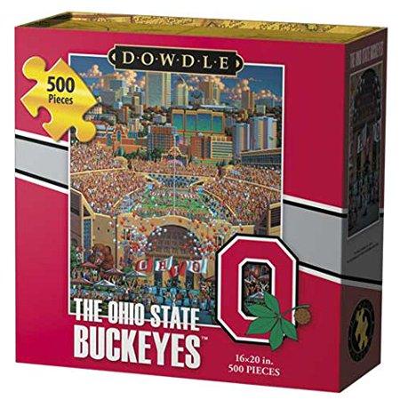 Ohio State Buckeyes Jigsaw Puzzle (500 Piece)High quality puzzle cardboard By Dowdle Folk (Cardboard Jigsaw)