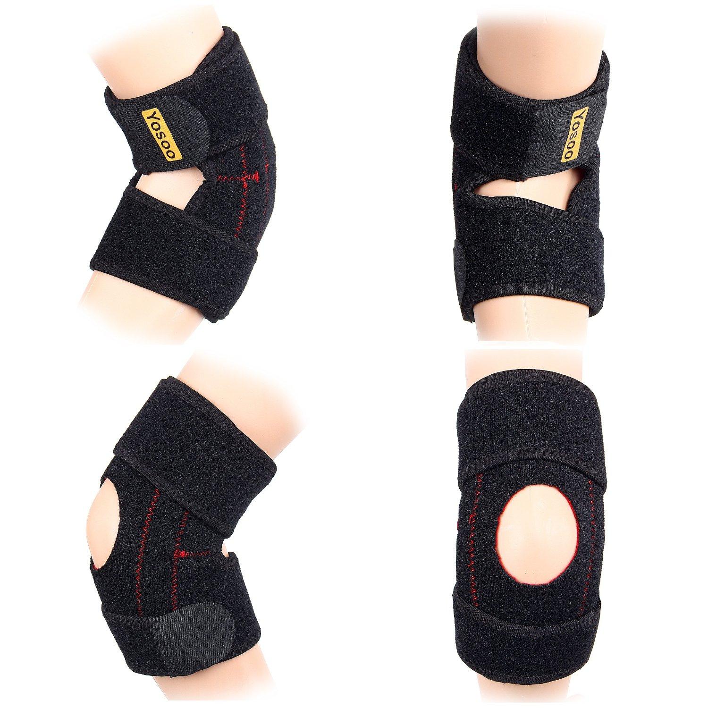 Yosoo   Neoprene  Adjustable Elbow Brace Wrap Arm Support Strap Band