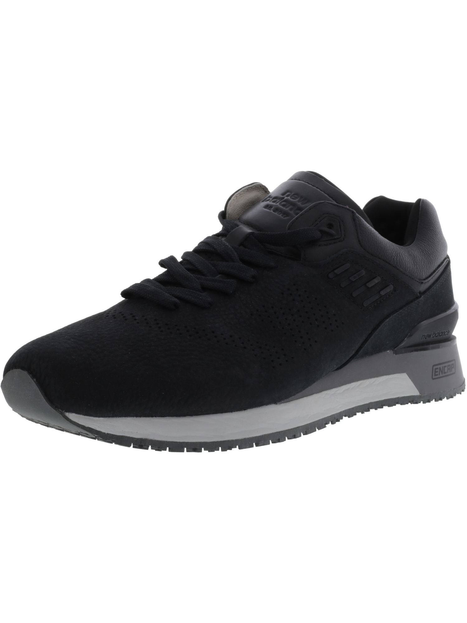 New Balance Men's Ankle-High Leather Fashion Sneaker