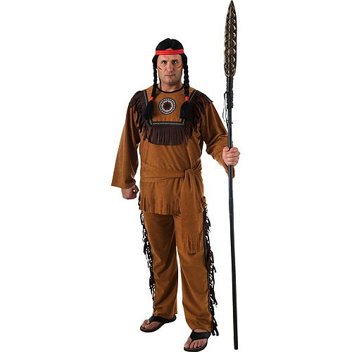 Native American Plus Adult Halloween Costume