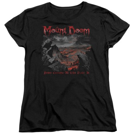 Lord Of The Rings - Power Corrupts - Women's Short Sleeve Shirt - Medium