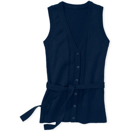 George - Girls' Sweater Vest - Walmart.com