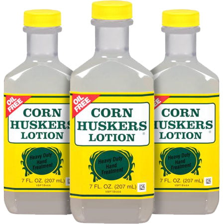 (3 Pack) Corn Huskers Lotion, Heavy Duty Hand Treatment, Oil Free, 7 oz.