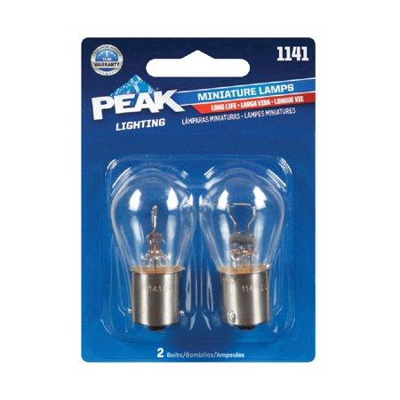 Peak 1141LL-BPP Automotive Miniature Lamp, 12.8 - Automotive Miniature Lamp