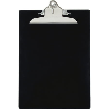 Saunders, SAU21603, Recycled Plastic Clipboards, 1 Each, Black