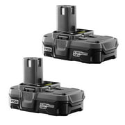 Ryobi 2 Pack Of OEM Replacement 18 Volt 1.3 Amp Lithium-Ion Batteries # P102-2PK