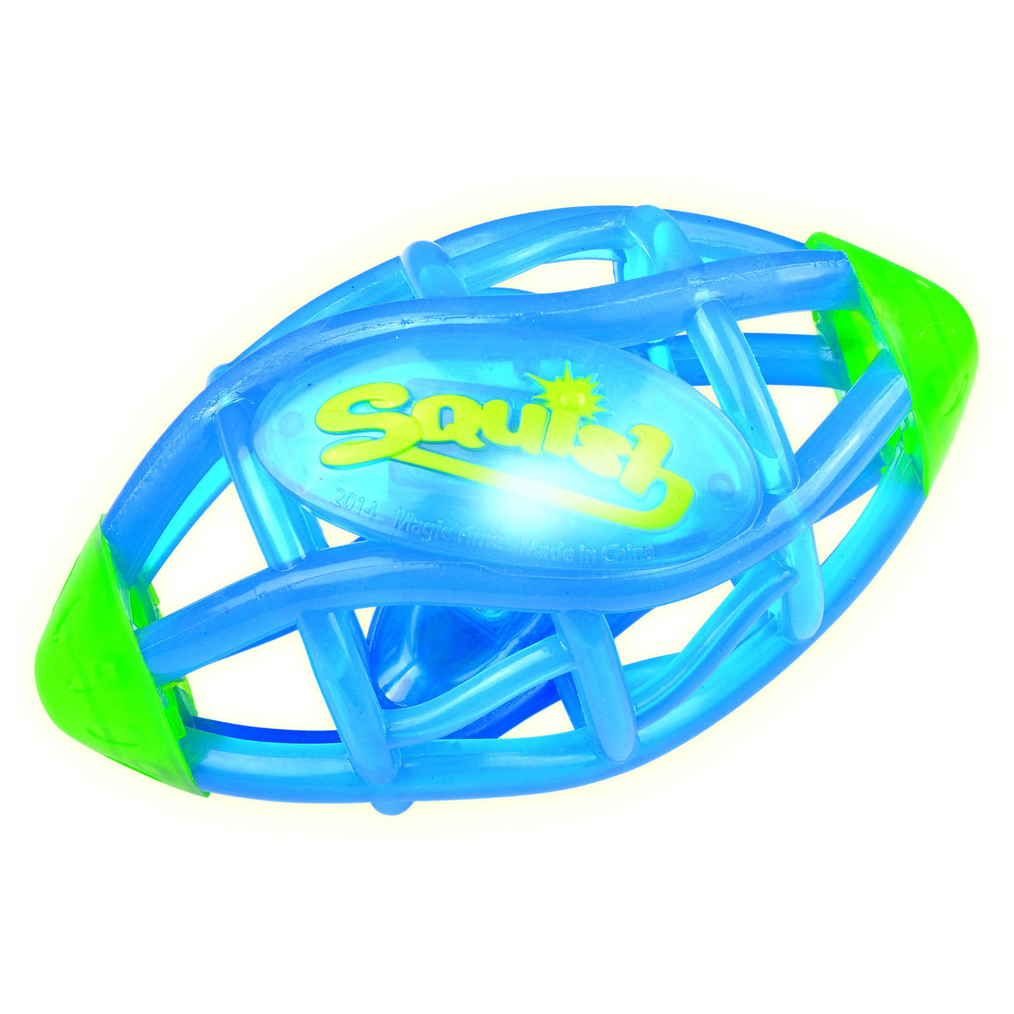 Squish Football by JIANG LIN PLASTIC MANUFACTURING LIMITED