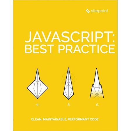 JavaScript: Best Practice - eBook